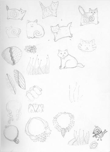 sketchbook cats