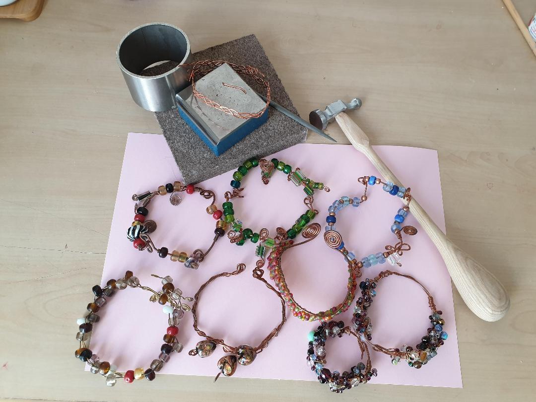 wirework collection bracelets etc